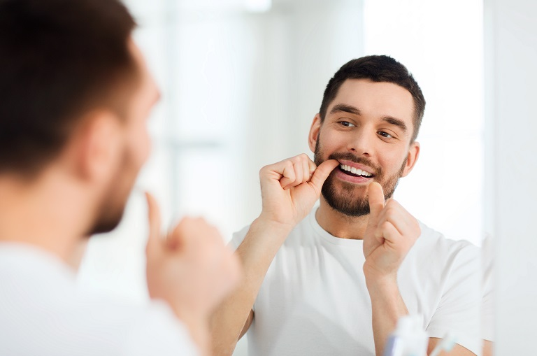 Flossing for Oral Health; Dentist near me