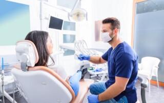 vistit at the dentist in aliso viejo